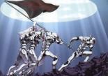 押井守的《攻壳机动队》有着细密的动画和很高的制作工艺,但角色在视觉上是平面的,特别是和《怪物史瑞克》之类近期电脑制作的电影相比。学者和影迷并不觉得这是日本动画技术的缺点,而认为这种美学是蓄意的,它强调了漫画和动画的联系,是动画吸引人的基础之一。