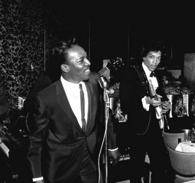 Wilson Pickett & Jimi Hendrix