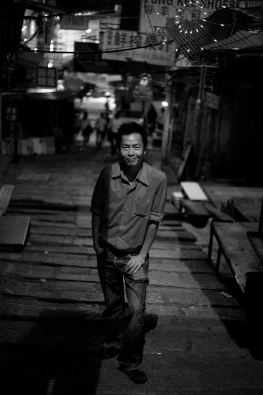 2007年的周耀辉,香港回归十周年,拍摄于中环