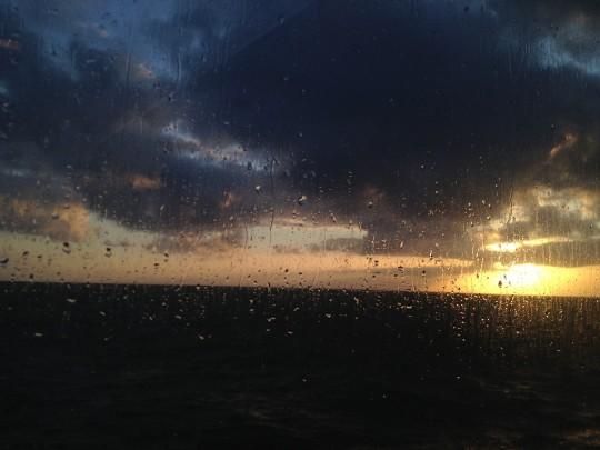20:40,刚刚经历过一场风雨
