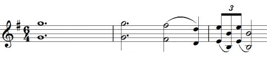 Sibelius 1 - Theme