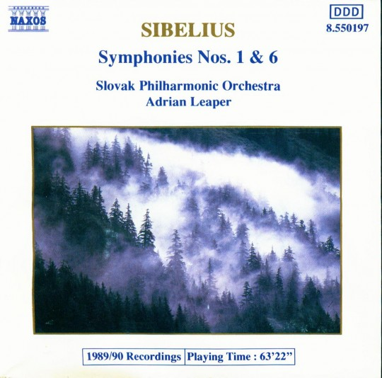 Sibelius - Symphonies 1 & 6