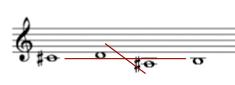 谱例4-4 变体2(参见《b小调弥撒》)