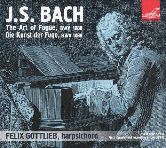 Felix Gottlieb/ J.S.Bach: The Art of Fugue, BWV 1080, Contrapunctus No. 18 Fuga a 3 Soggetti