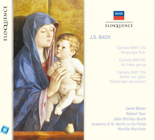 2. Dame Janet Baker, John Shirley-Quirk, Academy of St. Martin in the Fields Neville Marriner/ J.S. Bach: Cantata BWV 159-2, Ich folge dir nach.