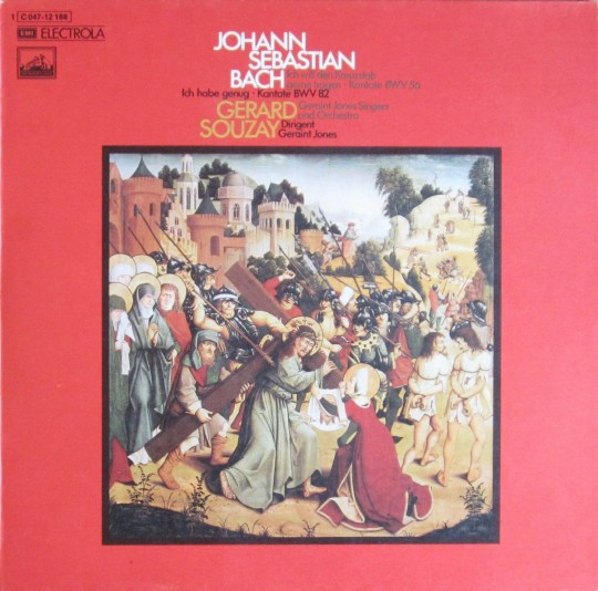 Gérard Souzay, Geraint Jones Singers & Orchestra/ J.S. Bach: Cantatas BWV 56, Ich will den Kreuzstabgernetragen