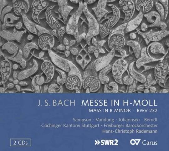 6.Carolyn Sampson,Gächinger Kantorei Stuttgart, Daniel Johannsen, Tobias Berndt, Hans-ChristophRademann,FreiburgerBarockorchester, AnkeVondung/ J.S.Bach: h-Moll Messe BWV 232, Crucifixus (Chorus)