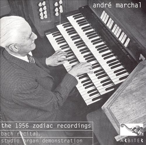 8.André Marchal, The 1956 Zodiac recordings,Bach recital and studio organdemonstration/J.S.Bach: OrgelbüchleinBWV 607, Von himmelkam der engelschar