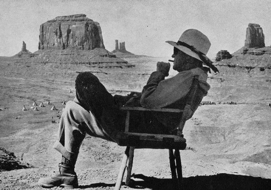 John Ford's favorite photograph of himself