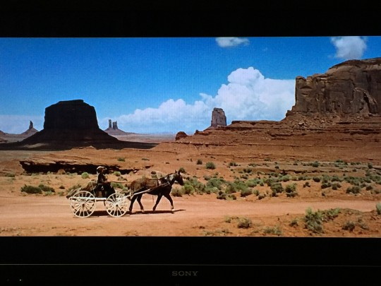 John Ford Point in Sergio Leone's Once Upon a Time in the West