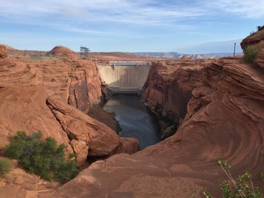 Glen Canyon Dam, near Page, Arizona