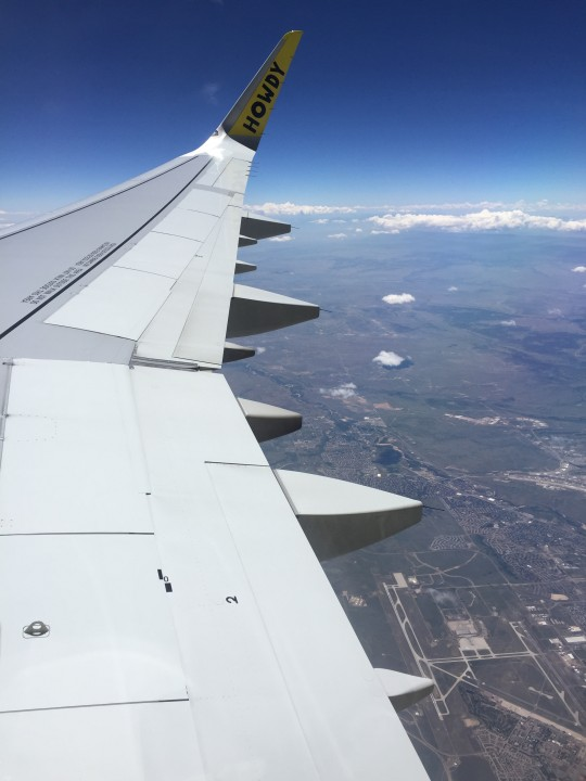 over Colorado Springs