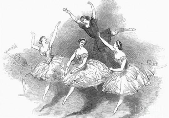 """""""取而代之的是芭蕾那样自由的向天而跃,宣告着自由人的神圣天性。"""""""