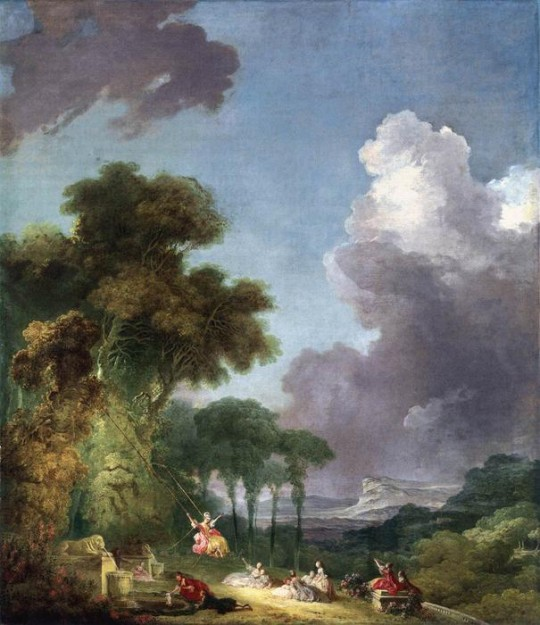 """""""而画家再也不必像弗拉戈纳尔那样,按贵族的口味把人理想化为18世纪精巧的玩偶。"""""""